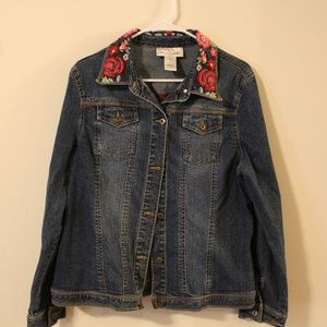 Jean Jacket, Size XL, Susan Bristol
